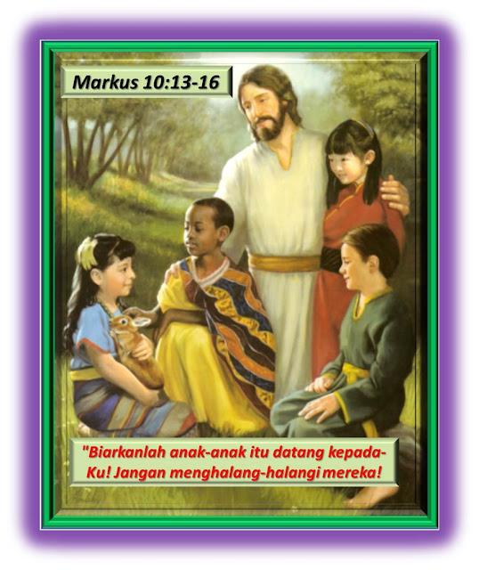 Markus 10:13-16
