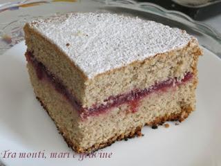 Torta, grano saraceno, mandorle, castagne