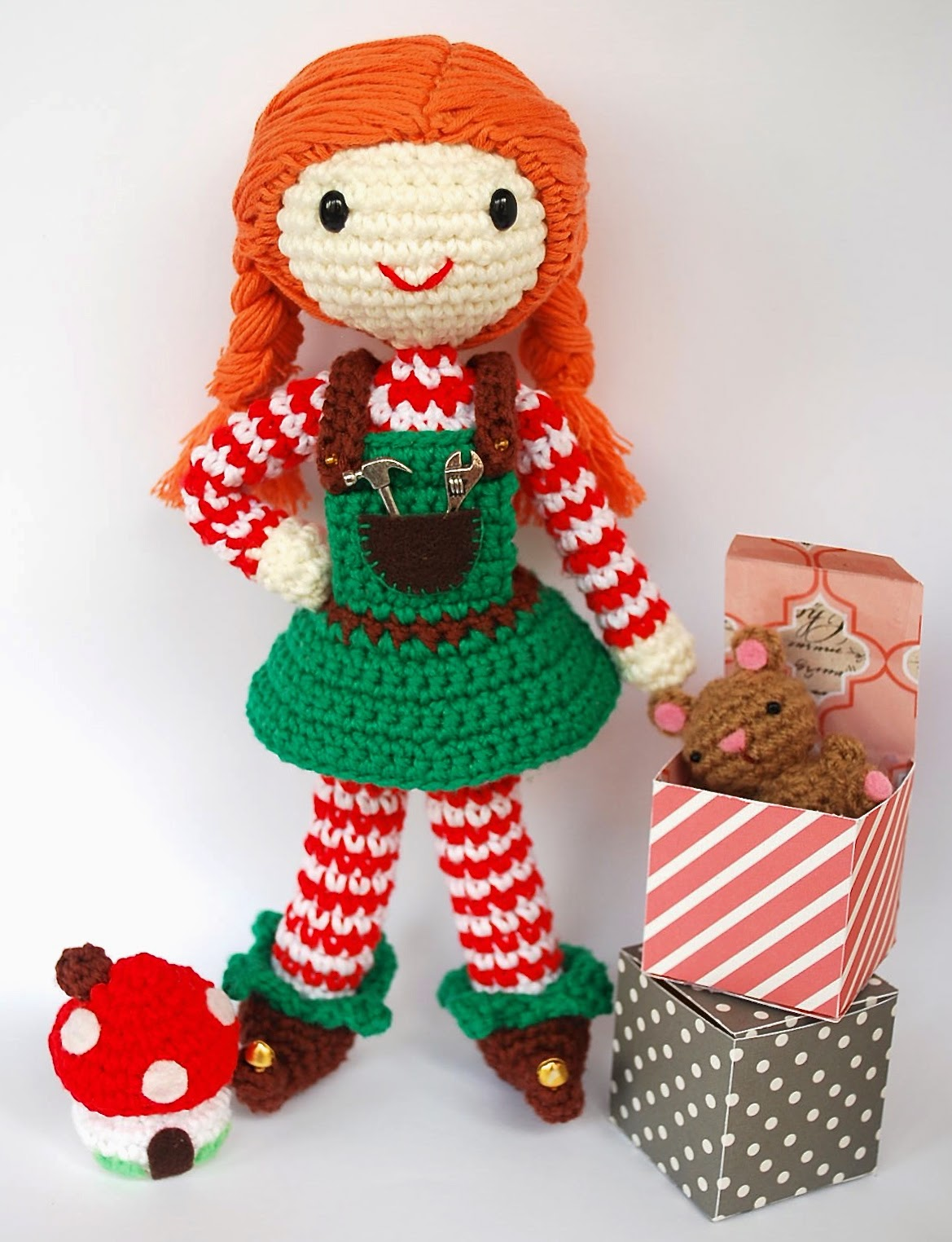 Amigurumi Christmas Elf