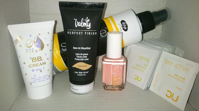 Maquillaje Valmy y la tienda de estetica y peluqueria profesional.