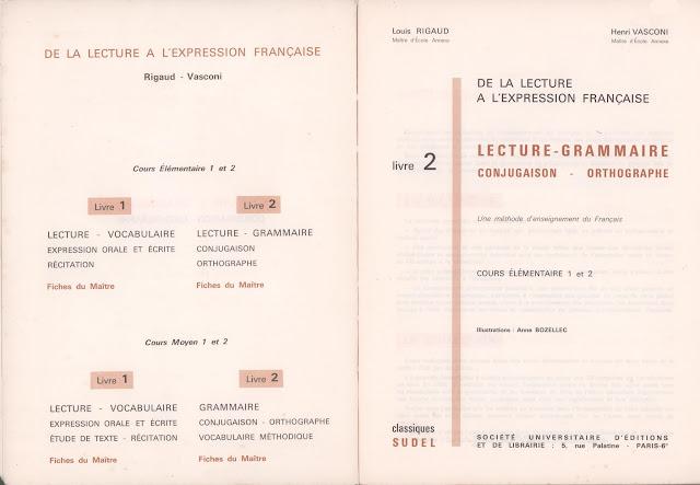 manuels anciens  rigaud  vasconi  de la lecture  u00e0 l