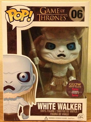 HMV Exclusive Glow in the Dark Chase White Walker Game of Thrones Pop! Television Vinyl Figure by Funko