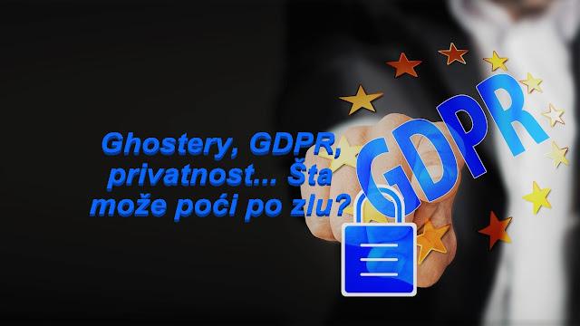 Ghostery, GDPR, privatnost... Šta može poći po zlu?