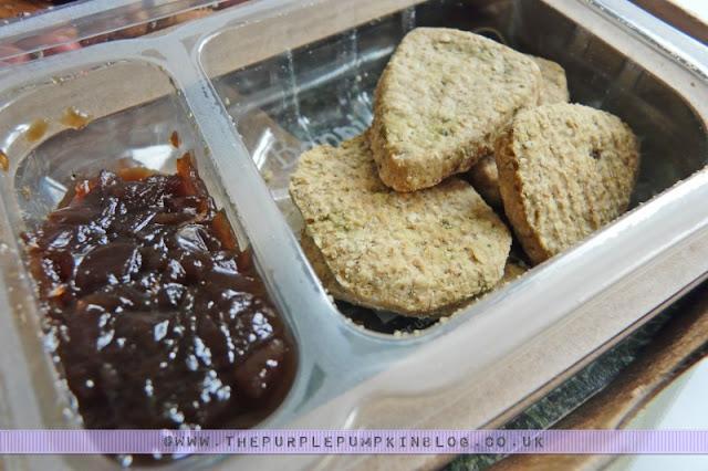graze box - boost box review: bonnie wee oatbakes