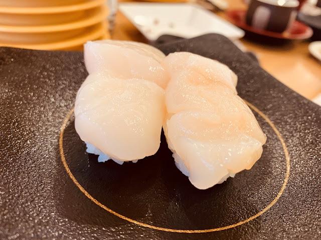 帆立貝握壽司