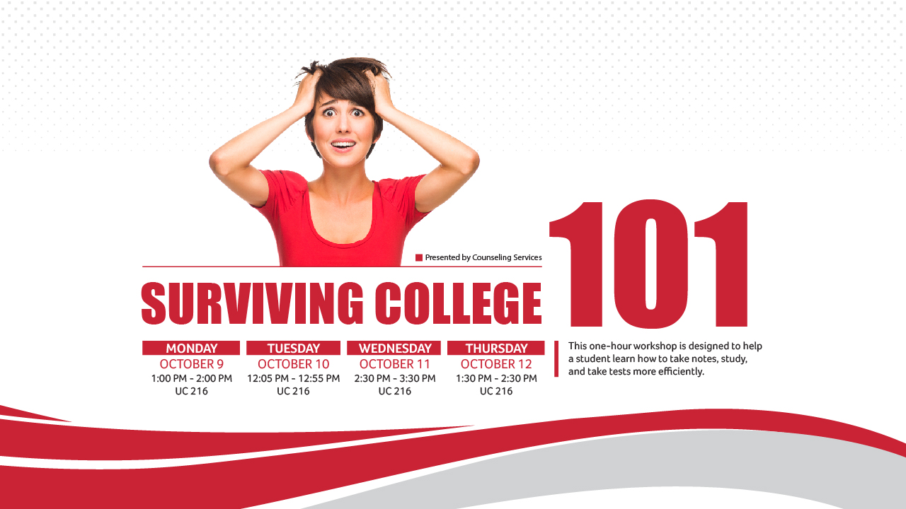 surviving college Surviving college 52 likes worried about your first semester of college stressing over tough assignments not sure how to manage time we have answers.
