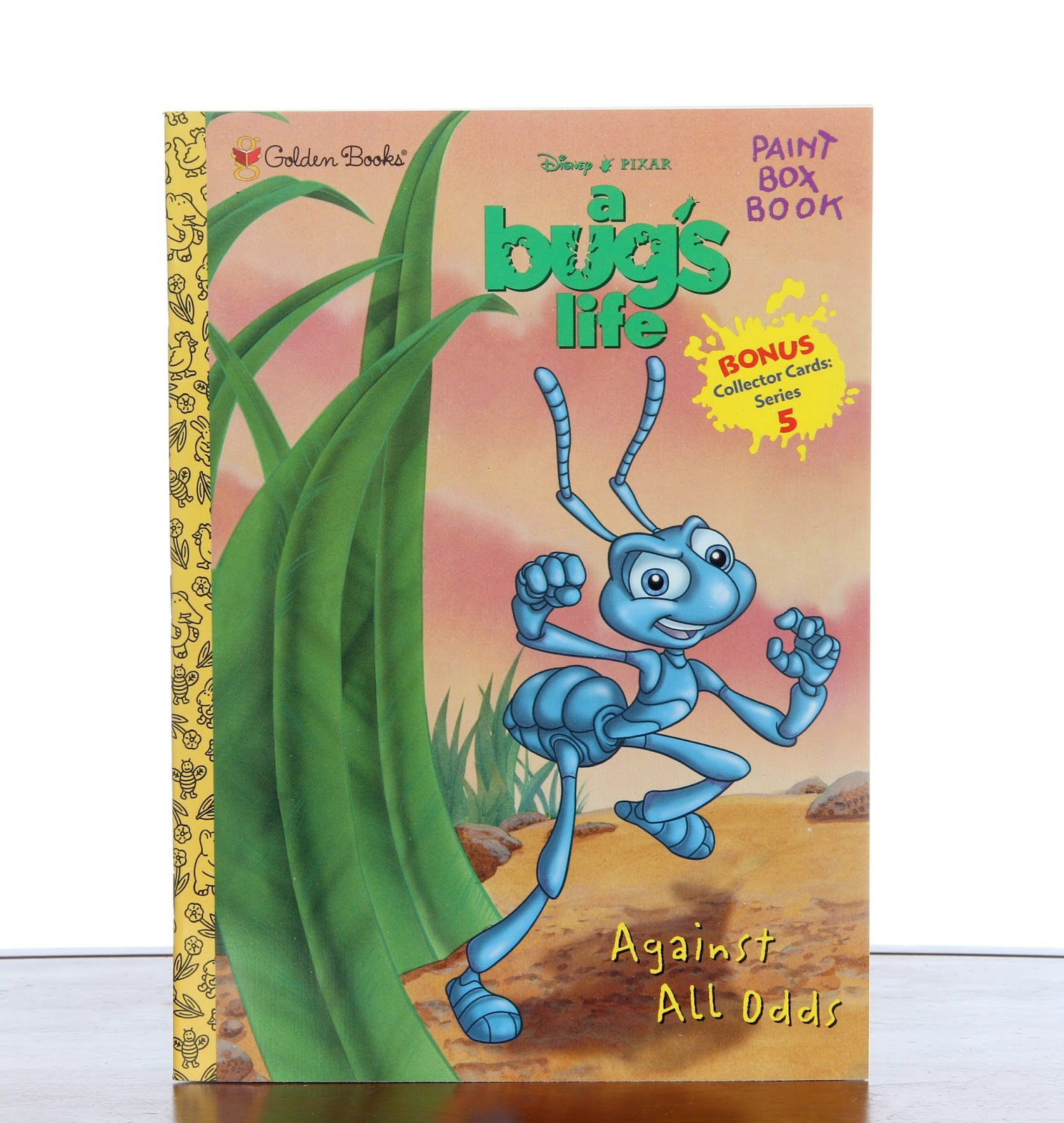 a bug's life against all odds paint book