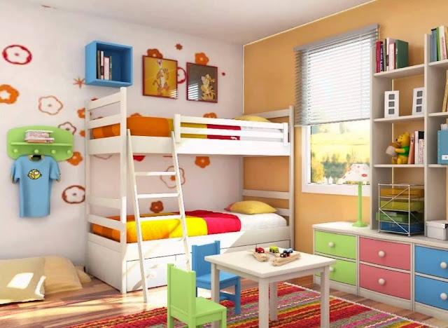 Kamar Tidur Anak Ukuran 3x3