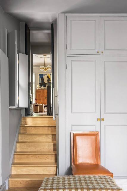 Stairs - French Art Deco Flat