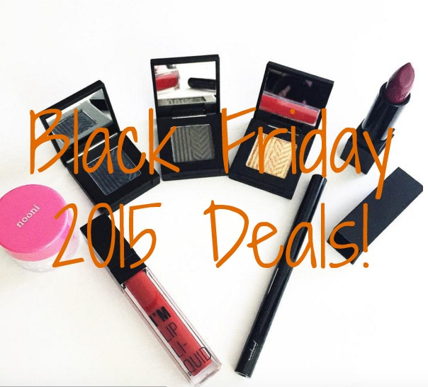 Black Friday 2015 Beauty Sales