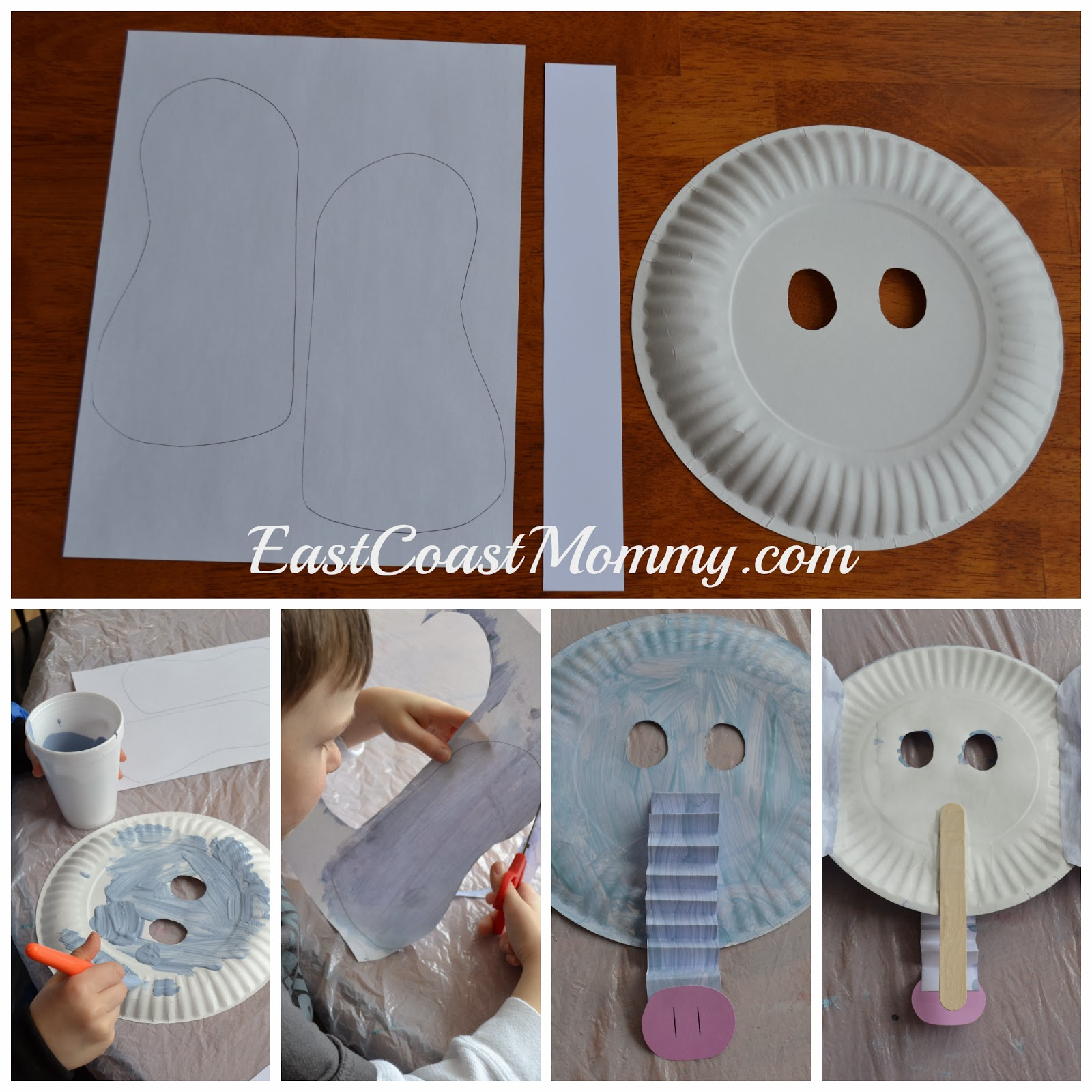 East Coast Mommy Alphabet Crafts Letter E