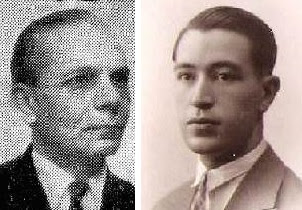 Los ajedrecistas Pere Sans Arnau  y  Pere Cherta Clos