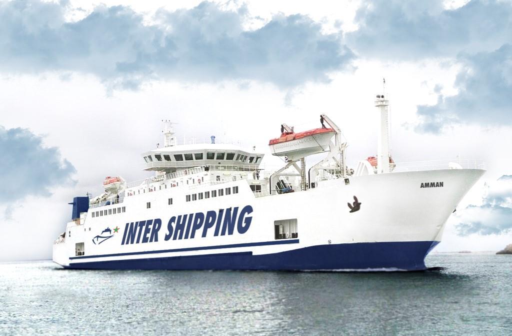 ferrybalear la naviera marroqu inter shipping confirma. Black Bedroom Furniture Sets. Home Design Ideas