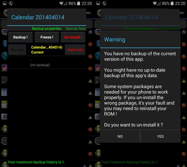 Cara Paling Mudah Menghapus Aplikasi bawaan Smartphone Android Yang Kurang Berguna
