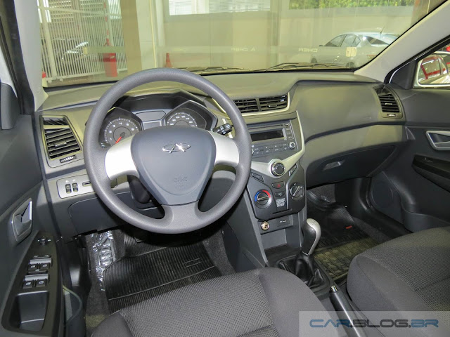Novo Chery Celer Sedan 2016 Flex - interior