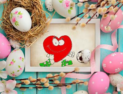 Hướng dẫn bé tập vẽ và tô màu hình trái tim vui nhộn với trái bóng