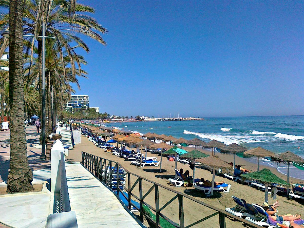 beach Marbella Spain