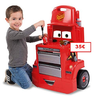 Banco de trabajo Cars 3 Mack Truck Trolley