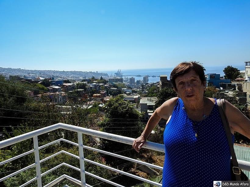 Mirante da casa de Pablo Neruda em Valparaíso, Chile - O que fazer em Valparaíso em algumas horas