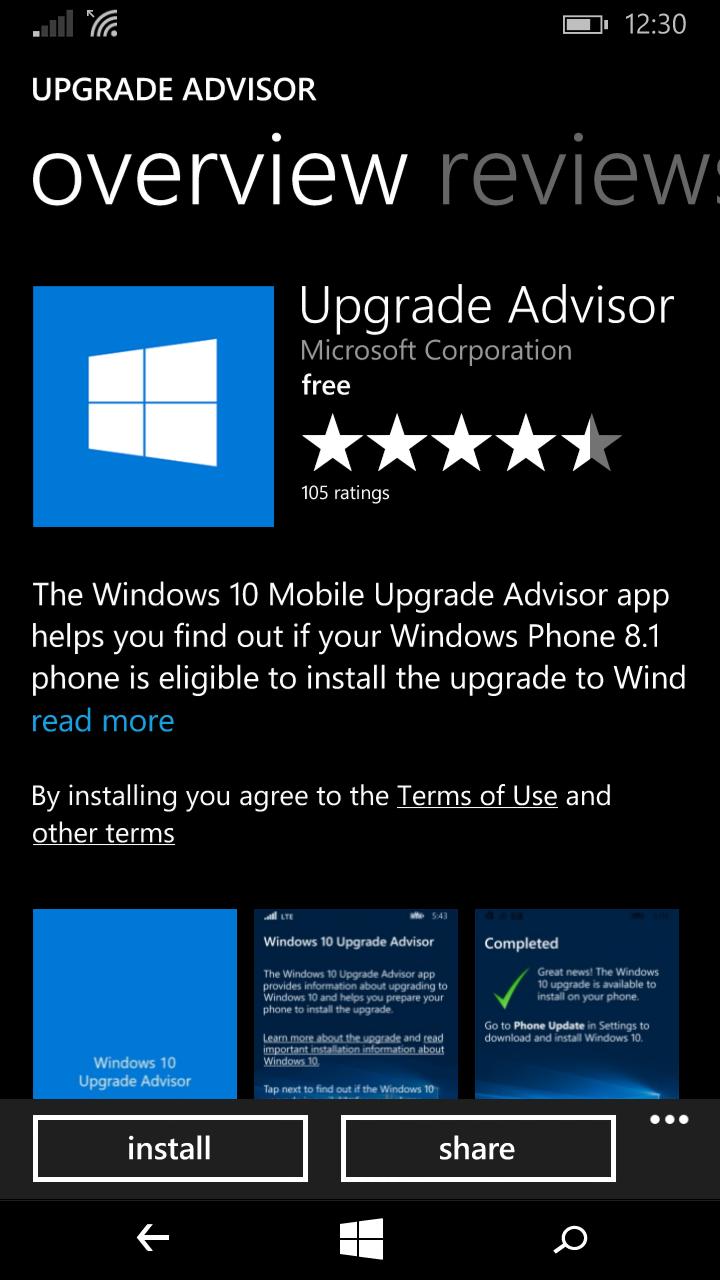 Upgrade Lumia 1320 to Windows 10 Mobile - Shahid's Corner