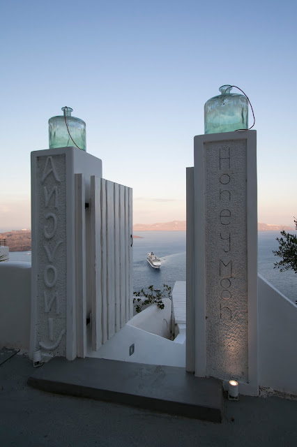Alba a Santorini
