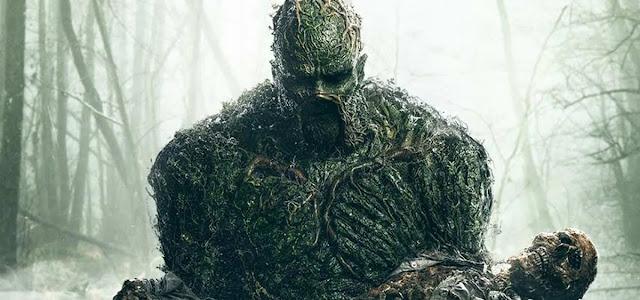 Série do Monstro do Pântano estará indo para a The CW