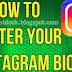 Instagram Bio Center | How to Center your Instagram BIO