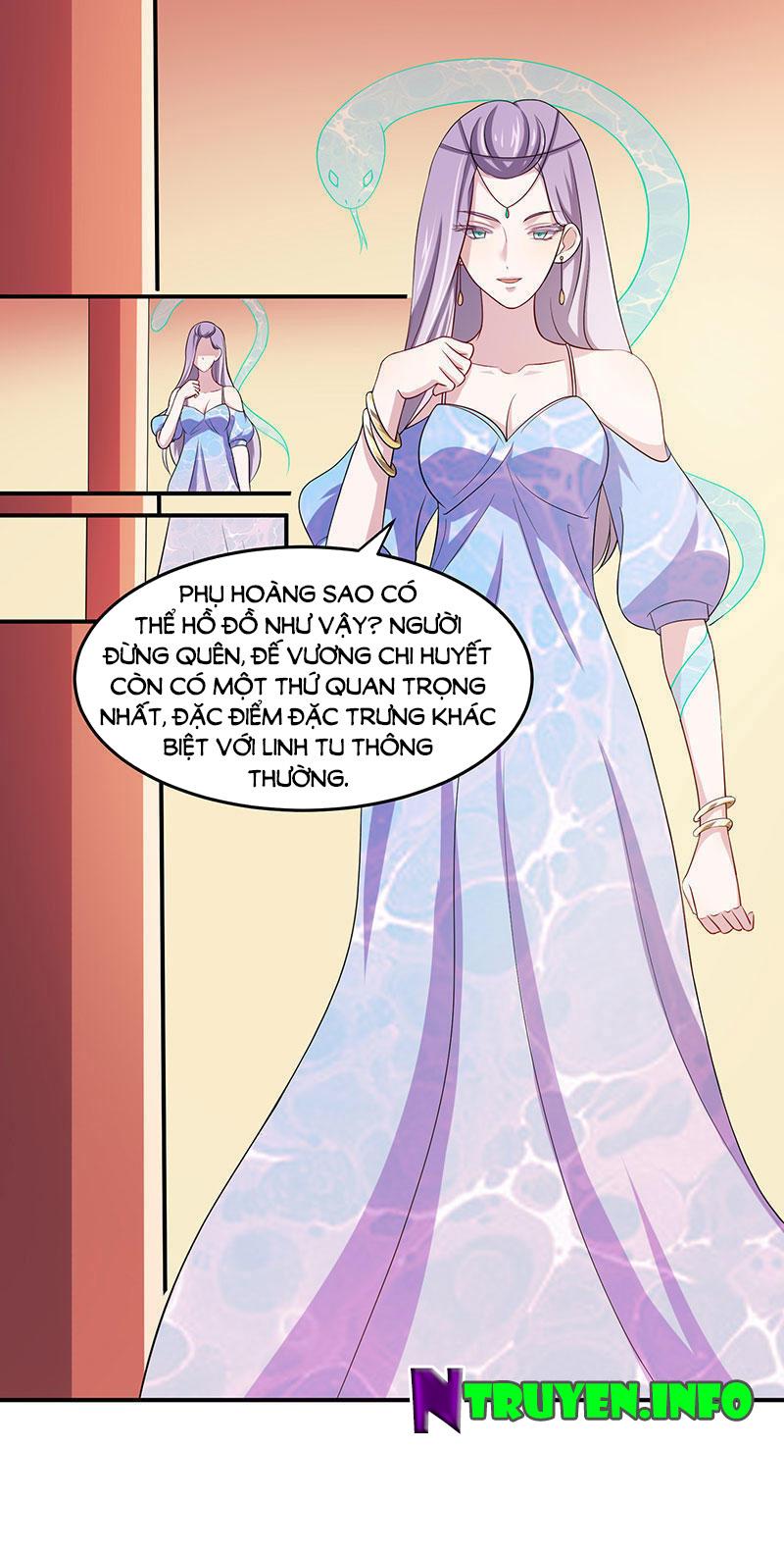 Khuynh thế đế vương cơ chap 3 - Trang 9