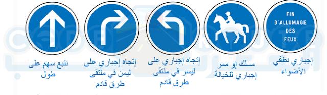 علامات الاجبار