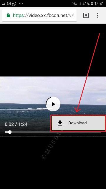 cara download video dari internet tanpa software