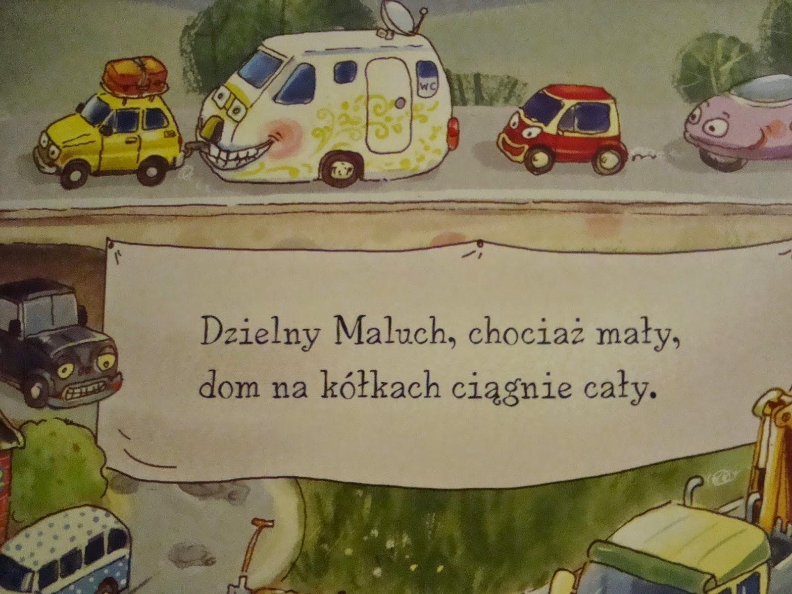 opowiem ci mamo co robią auta, recenzja, książka, dla dzieci, nasza księgarnia