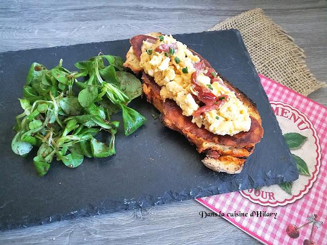 Ma tartine Andalouse - Dans la cuisine d'Hilary