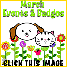 March Events and Badges