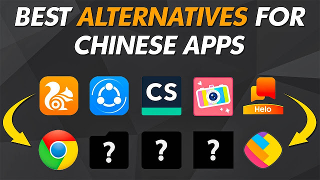 Best Chinese Apps Alternatives You Should Use!