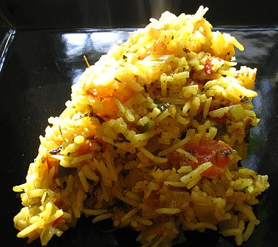Methi (Fenugreek Leaf) Rice