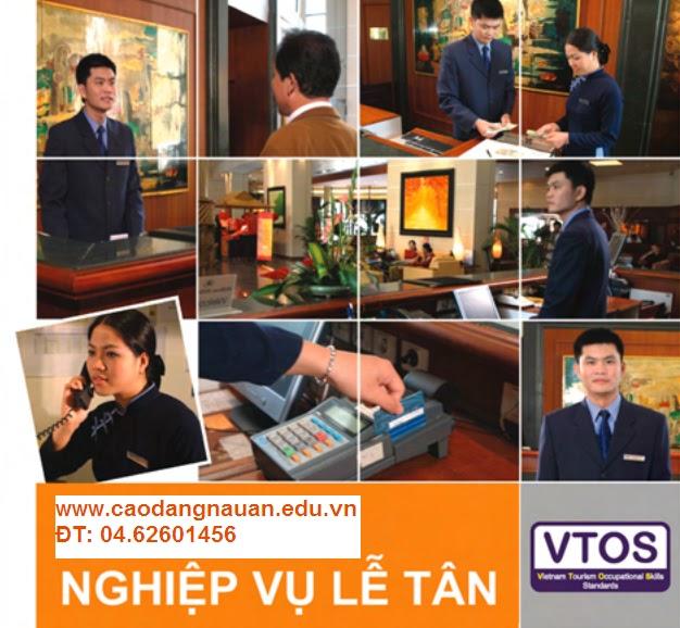 Nghiệp vụ Lễ tân [Tiêu chuẩn VTOS - www.caodangnauan.edu.vn]