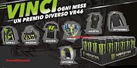 Logo Con Monster Energy vinci favolosi premi firmati VR46