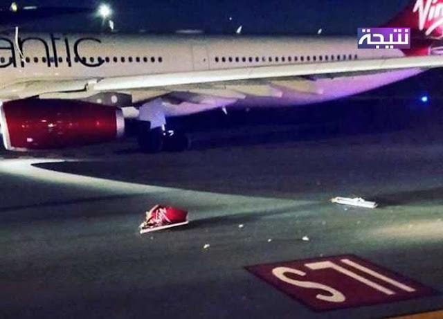 عاجل اصطدام طائرة مصر للطيران مع طائرة إنجليزية في مطار بأمريكا وتحقيقات موسعة للتوصل إلى أسباب الحادث