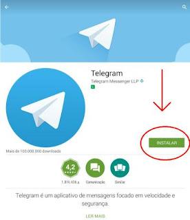 Como fazer a instalação do Telegram