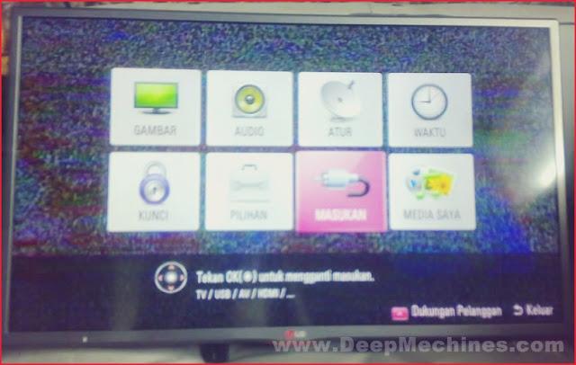 Perbaiakan Kerusakan LED TV LG 32-Inc (32LB563D-TD)