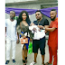 Nollywood Actor Prince Iyke Olisa & Wife Dedicate Their Child In Church