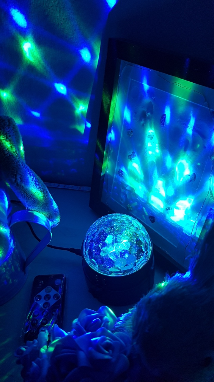 Mona\'s Blog: AOMEES Discokugel Party Disco Licht Musik ...