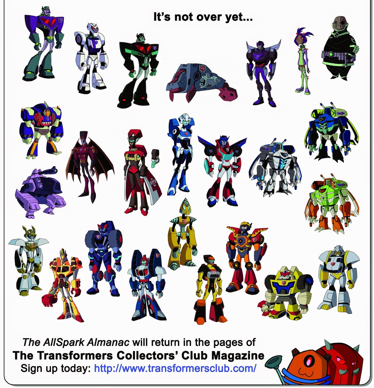 Disciples of Boltax: Secrets of the AllSpark Almanac Addenda