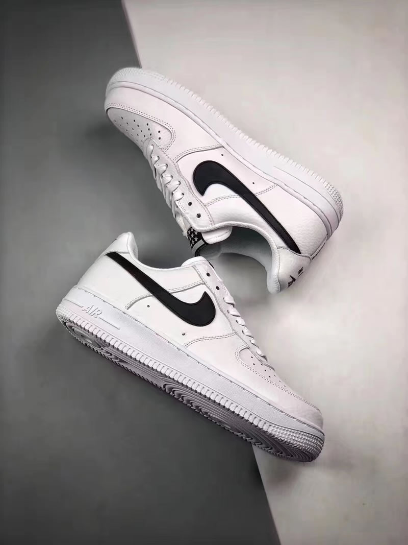 Nike Air Force 1  07  Stars  Black White Low In-Hand AA4083-103 -  AnpKick.com d712630d5