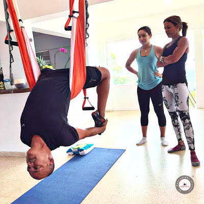 puerto rico, aeroyoga, yoga aereo, yoga aerea, aerial yoga, yoga swing, air yoga, retiros, cursos, clases, escuelas, formacion, certificacion, salud, wellness, tendencias, bienestar
