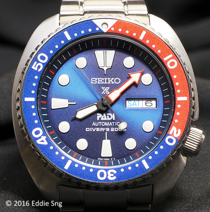 Tick Tock Forever Seiko Prospex Pepsi Turtle Padi Edition