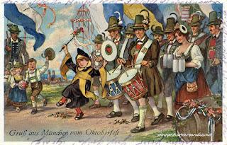 Desfile del Münchner Kindl en la Oktoberfest (Múnich) (@mibaulviajero)