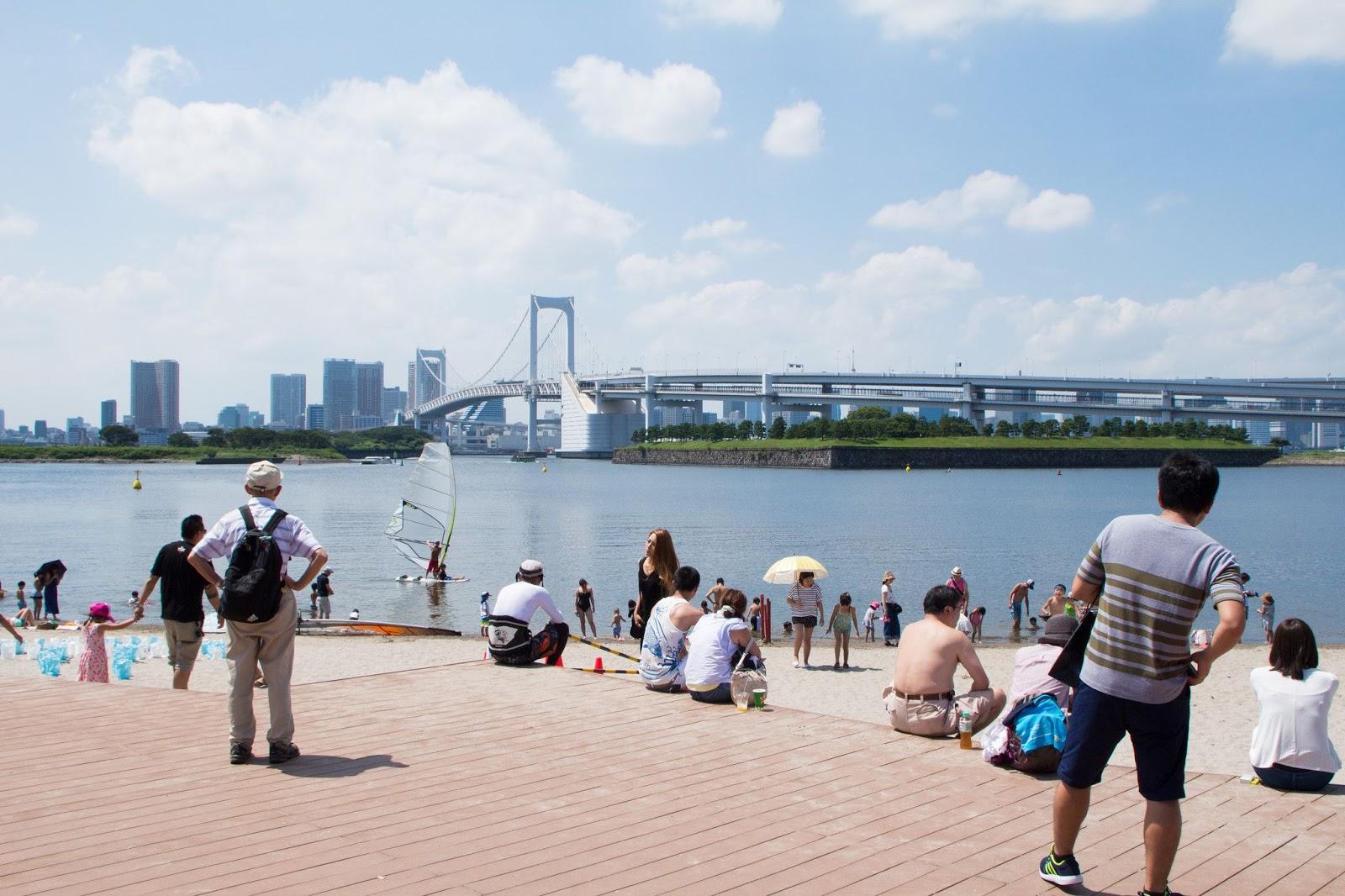 東京オリンピック会場お台場の水質が大腸菌だらけ(海外の反応)