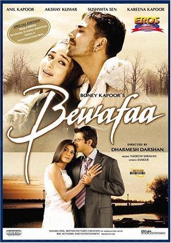 Poster of Bewafaa 2005 720p Hindi HDRip Full Movie Download