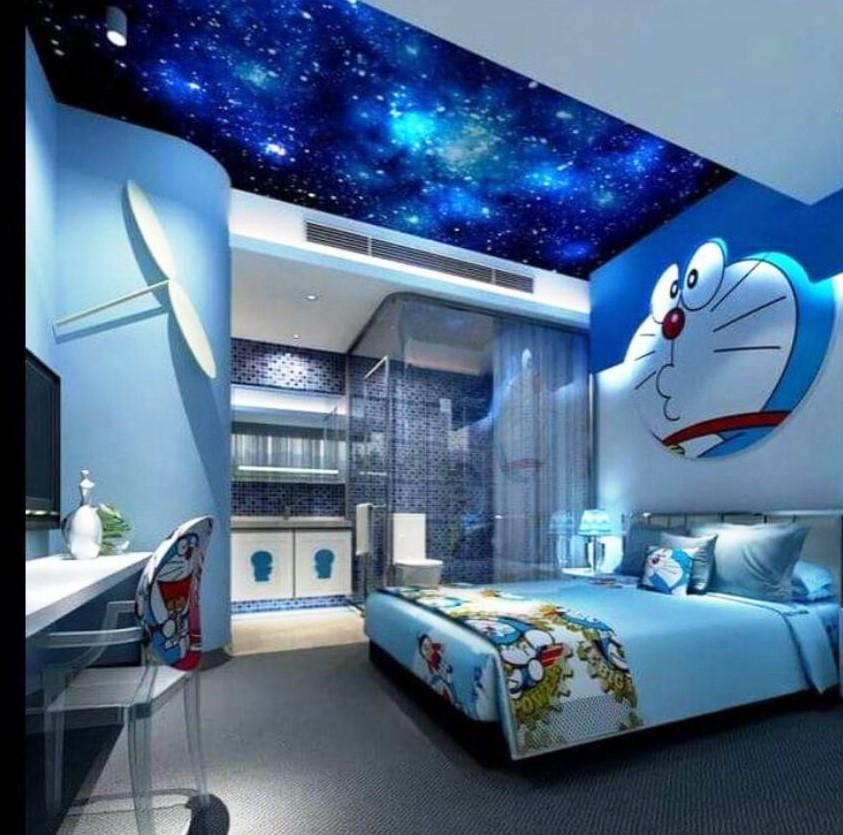 89+ Gambar Kamar Tidur Doraemon Modern Kekinian
